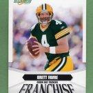 2007 Score Football Franchise Insert #04 Brett Favre - Green Bay Packers
