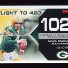 2007 Topps Football Brett Favre Collection Insert #BF102 Brett Favre - Green Bay Packers