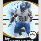 2007 Topps Football Hobby Masters Insert #HMLT LaDainian Tomlinson - San Diego Chargers
