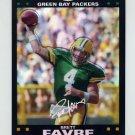 2007 Topps Chrome Football Refractors Insert #TC114 Brett Favre - Green Bay Packers