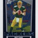2007 Topps Draft Picks and Prospects Football Chrome Black #014 Brett Favre - Green Bay Packers