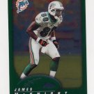 2002 Topps Chrome Football #129 James McKnight - Miami Dolphins