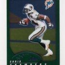 2002 Topps Chrome Football #092 Chris Chambers - Miami Dolphins