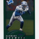 2002 Topps Chrome Football #087 Germane Crowell - Detroit Lions