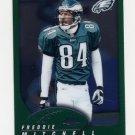 2002 Topps Chrome Football #047 Freddie Mitchell - Philadelphia Eagles