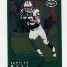 2002 Topps Chrome Football #021 Santana Moss - New York Jets