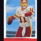 2002 Topps Gallery Football #163 Patrick Ramsey RC - Washington Redskins