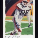 2002 Topps Gallery Football #135 Kevin Johnson - Cleveland Browns