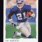 2002 Topps Gallery Football #116 Tiki Barber - New York Giants