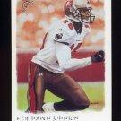 2002 Topps Gallery Football #056 Keyshawn Johnson - Tampa Bay Buccaneers