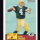 2002 Topps Heritage Football New Age Performers Insert #NAP3 Brett Favre - Green Bay Packers