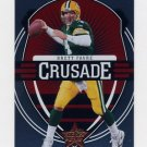 2006 Leaf Rookies and Stars Football Crusade Red #02 Brett Favre - Green Bay Packers 0018/1000