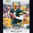 2008 Score Football #106 Brett Favre - Green Bay Packers
