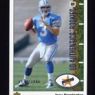 2002 UD Authentics Football #110 Joey Harrington RC - Detroit Lions 0554/1000