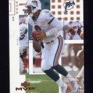 2002 Upper Deck MVP Football #130 Ray Lucas - Miami Dolphins