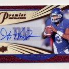 2008 Upper Deck Premier Penmanship Autographs Bronze #PP4 Andre Woodson RC - NY Giants /65