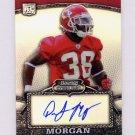 2008 Bowman Sterling Refractors #127 DaJuan Morgan - Kansas City Chiefs AUTO /199