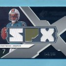 2008 SPx Rookie Materials SPx Dual 199 #RMCH Chad Henne - Dolphins Game-Used /199