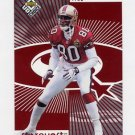 1998 UD Choice Starquest/Rookquest Red Insert #SR7 Jerry Rice / Randy Moss