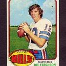1976 Topps Football #048 Joe Ferguson - Buffalo Bills Vg