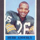 1964 Philadelphia Football #071 Herb Adderly RC - Green Bay Packers