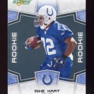 2008 Score Football Card #421 Mike Hart RC - Indianapolis Colts