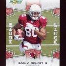 2008 Score Football Card #390 Early Doucet RC - Arizona Cardinals