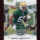 2008 Score Football Card #336 Vernon Gholston RC - New York Jets