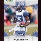 2008 Score Football Card #285 Deion Branch - Seattle Seahawks