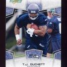 2008 Score Football Card #279 T.J. Duckett - Seattle Seahawks