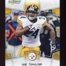 2008 Score Football Card #256 Ike Taylor - Pittsburgh Steelers