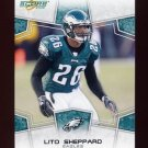2008 Score Football Card #246 Lito Sheppard - Philadelphia Eagles