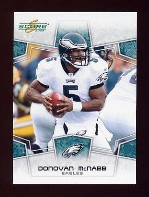 2008 Score Football Card #239 Donovan McNabb - Philadelphia Eagles