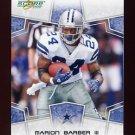 2008 Score Football Card #079 Marion Barber - Dallas Cowboys