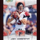 2008 Score Football Card #010 Joey Harrington - Atlanta Falcons