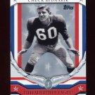 2008 Topps Football Honor Roll #HRCB Chuck Bednarik - Philadelphia Eagles