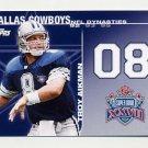 2008 Topps Football Dynasties #DYNTA Troy Aikman - Dallas Cowboys