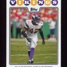 2008 Topps Football #273 Darren Sharper - Minnesota Vikings