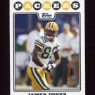 2008 Topps Football #135 James Jones - Green Bay Packers