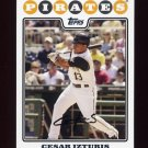 2008 Topps Baseball #299 Cesar Izturis - Pittsburgh Pirates