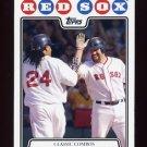 2008 Topps Baseball #258 Manny Ramirez / Kevin Youkilis - Boston Red Sox