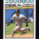 2008 Topps Baseball #227 Alfredo Amezaga - Florida Marlins