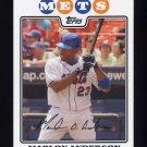 2008 Topps Baseball #147 Marlon Anderson - New York Mets