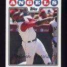 2008 Topps Baseball #090 Vladimir Guerrero - Los Angeles Angels