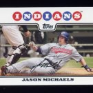 2008 Topps Baseball #063 Jason Michaels - Cleveland Indians