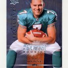 2008 Upper Deck Rookie Exclusives Football #RE58 Chad Henne - Miami Dolphins
