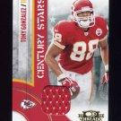 2008 Donruss Threads Century Stars Materials #CS14 Tony Gonzalez - KC Chiefs Game-Used JSY /250
