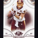 2008 Donruss Threads Retail Red #149 Chris Cooley - Washington Redskins