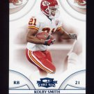 2008 Donruss Threads Retail Blue #066 Kolby Smith - Kansas City Chiefs 015/350