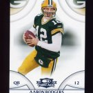 2008 Donruss Threads Retail Blue #046 Aaron Rodgers - Green Bay Packers 275/350
